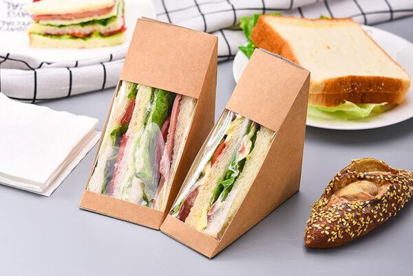 kkraft paper sandwich boxes- ALFONDOKIA